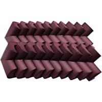 Sipery 20Pcs Brown Corner Guards Super Soft Baby Proofing Corner Protector for Furniture NBR Foam Rubber Child Safety…