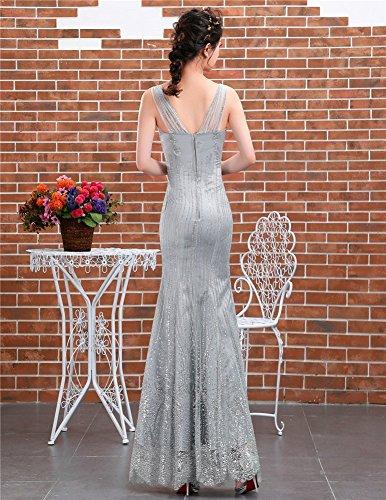 Drasawee Kleid Schlauch Grau Grau Damen Schlauch Drasawee Damen Kleid Fq1gFU