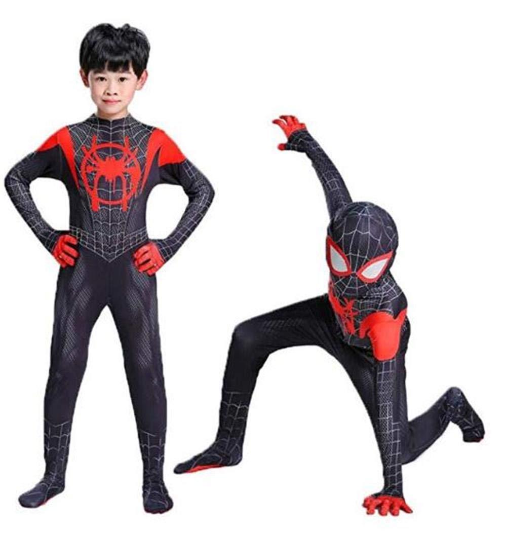 Wandado Toddler Kids Bodysuit Black Tights Zentai Costume