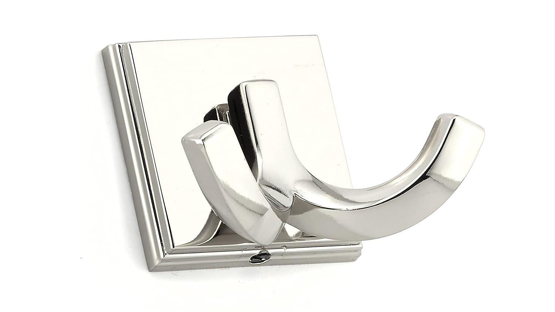 Richelieu Hardware BP7952180 Polished Transitional Metal Hook 7952 Nickel Finish