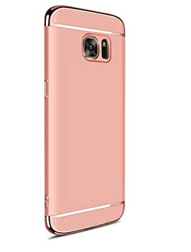 Funda Galaxy A5 2017,Luxury 3 en 1 Hard PC Rígido Bumper Carcasa Anti-Scratch ultrafina Slim Fit Protectora Case Cover para Samsung Galaxy A5 2017 ...