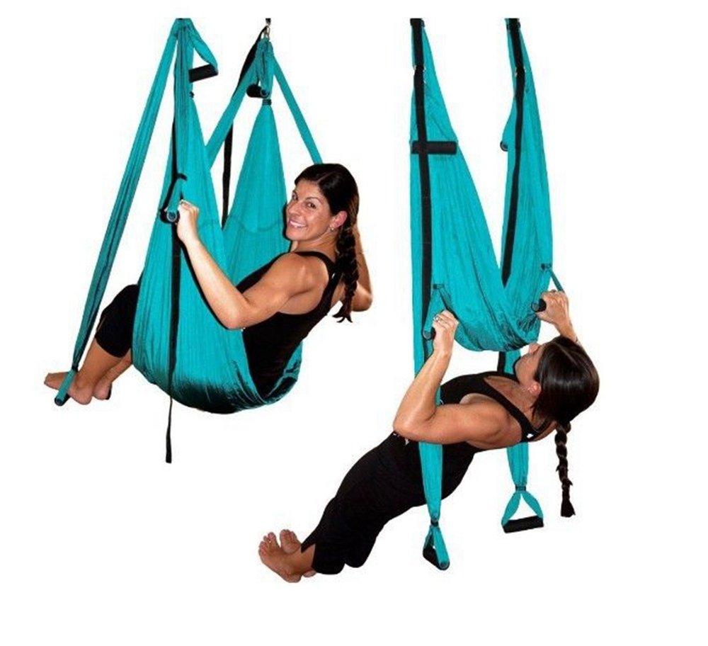 MLSH Yoga-Hängematte, Anti-Schwerkraft-Luft-Yoga-Hängematte Yoga-Luft-Hängematte, Anti-Schwerkraft-Luft-Yoga-Hängematte