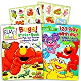 Best Sesame Street Friends Sticker Books - Sesame Street Elmo Coloring Book Set with Stickers Review