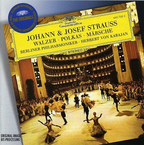 Johann & Josef Strauss: Waltzes, Polkas & Marches Walzer Johann Strauss