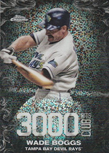 liday Mega Box 3000 Hits Club #3000C18 Wade Boggs Baseball Card (Wade Boggs 3000 Hit Club)