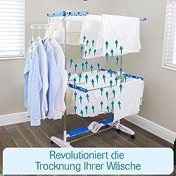 NuBreeze Wäscheständer mit Gebläse