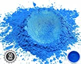 Eye Candy Pearls 50gr Dark Ocean Blue Mica Powder Pigments (Resin, Paint, Epoxy, Soaps, Nail Polish, Liquid Wraps)