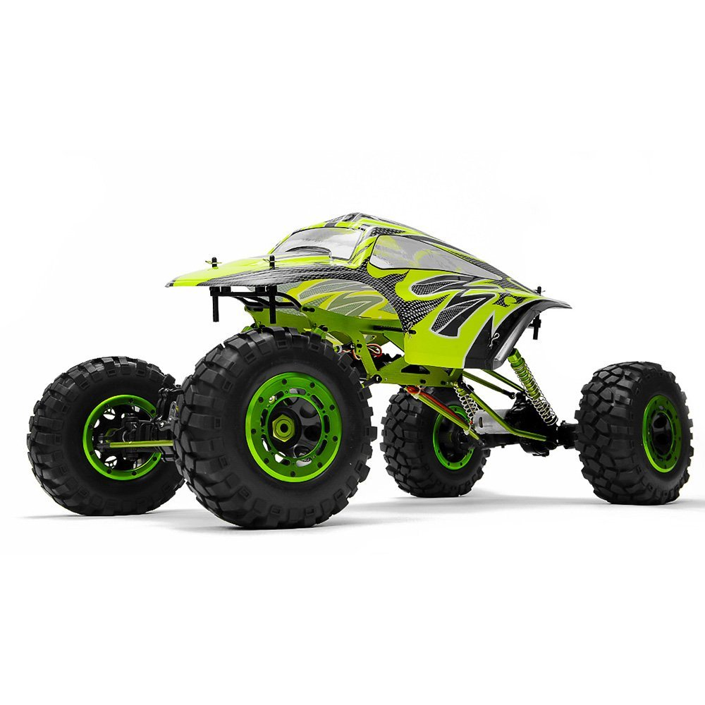 amazon com: exceed rc 1:5 scale maxstone rc crawler 2 4ghz ready