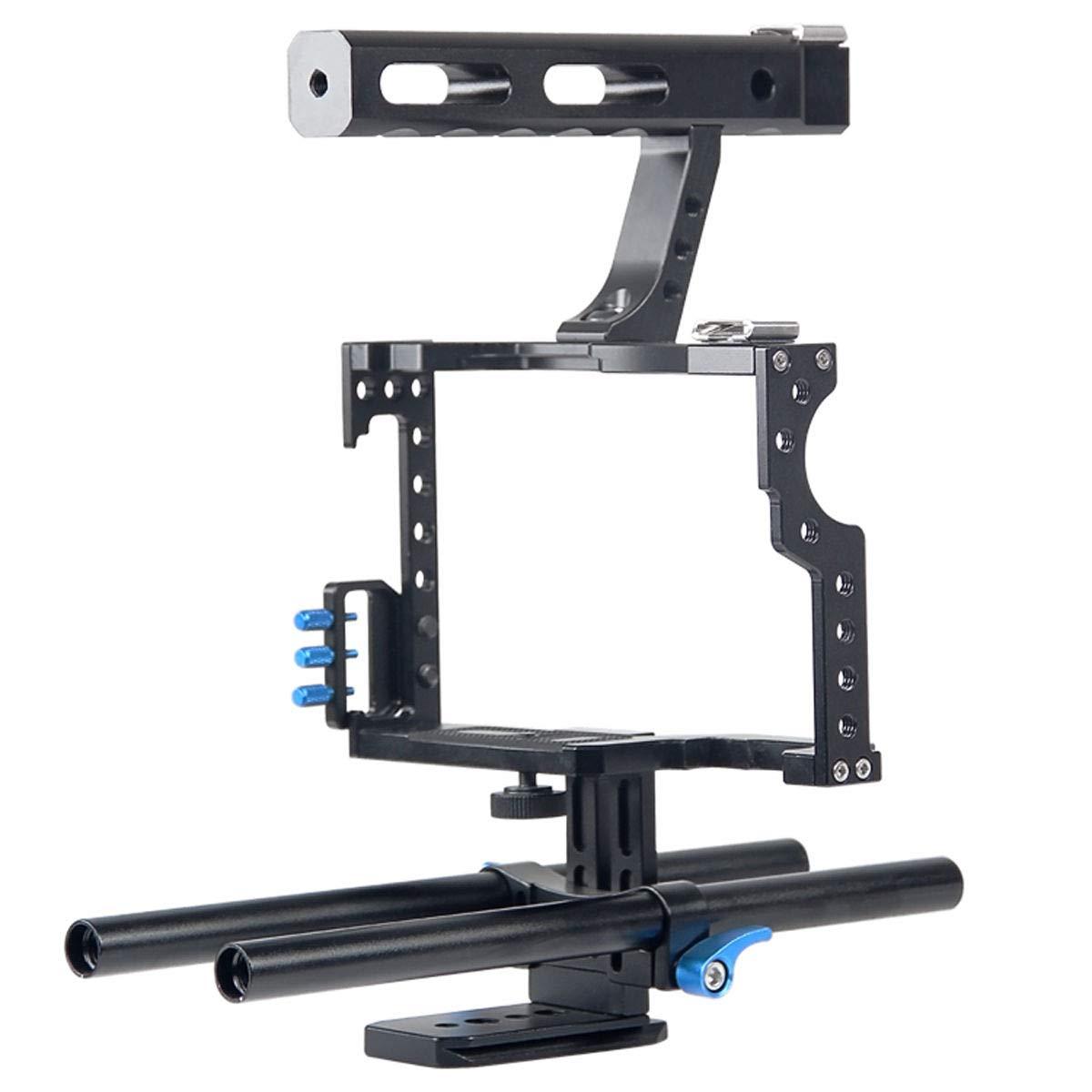 FidgetFidget Stabilizers for DSLR Camera Cage + Follow Focus + Matte Box Kit for Sony A7S A7 A7R A7RII A7SII by FidgetFidget (Image #7)