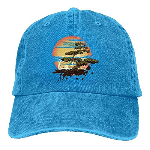 Walnut Cake Gorras béisbol Bonsai Tree MN Denim Hat Adjustable Women Surf Baseball Hats