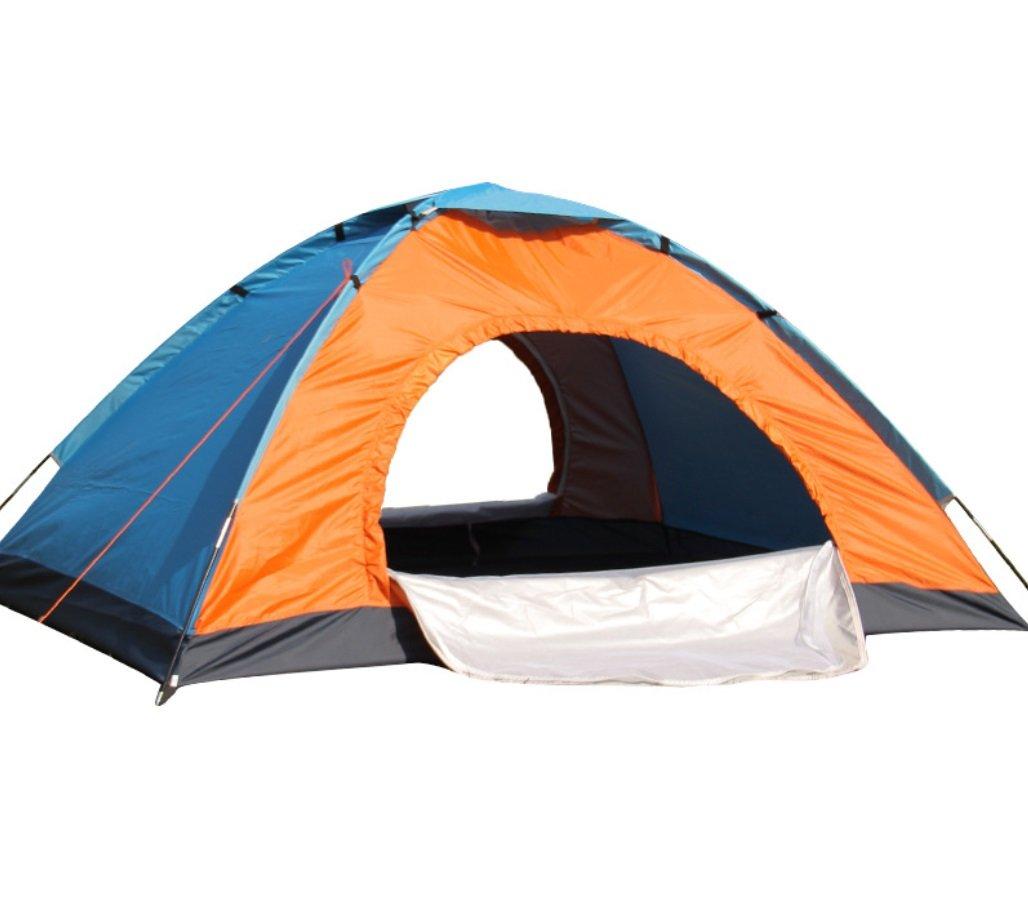 Upgrade-Version der Hand 3-4 Doppeltür Außenzelt Outdoor Camping Camping ZXCV