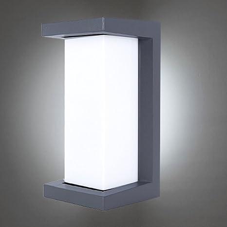Lightess Wall Sconce Outdoor Wall Lamp Modern Exterior Light ...