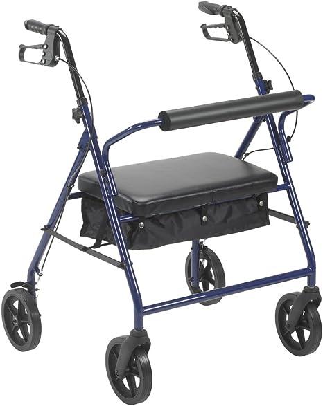 Amazon.com: Bariátrico Andador Walker Heavy Duty con asiento ...
