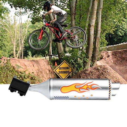 Ecosin Fun Motorcycle Sounds Fashion Mountain Bike Turbo Pipe Exhaust System Sound Motorcycle Megaphone ()