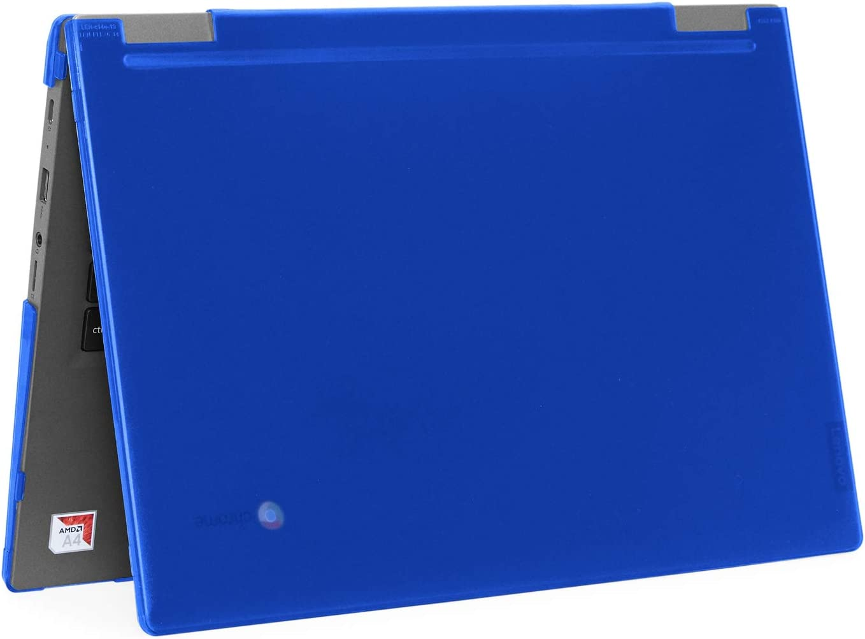 """mCover Hard Shell Case for 2019 14"""" Lenovo 14e Series Chromebook Laptop (NOT Fitting Older 14"""" Lenovo N42 / S330 and 11.6"""" N22 / N23 / N24, etc Chromebook) (LEN-C14e Blue)"""