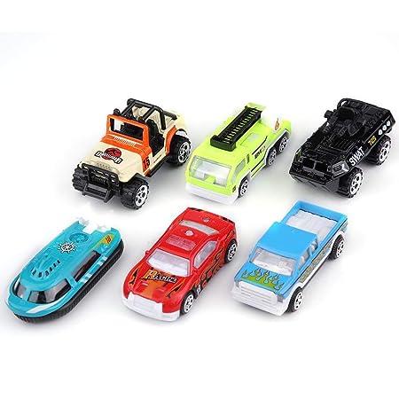 Dilwe Mini 1/64 Alloy Toy Cars Set Pull Back Modelo de Vehículo de Coche Lote para Niños(Coche de Carreras): Amazon.es: Juguetes y juegos