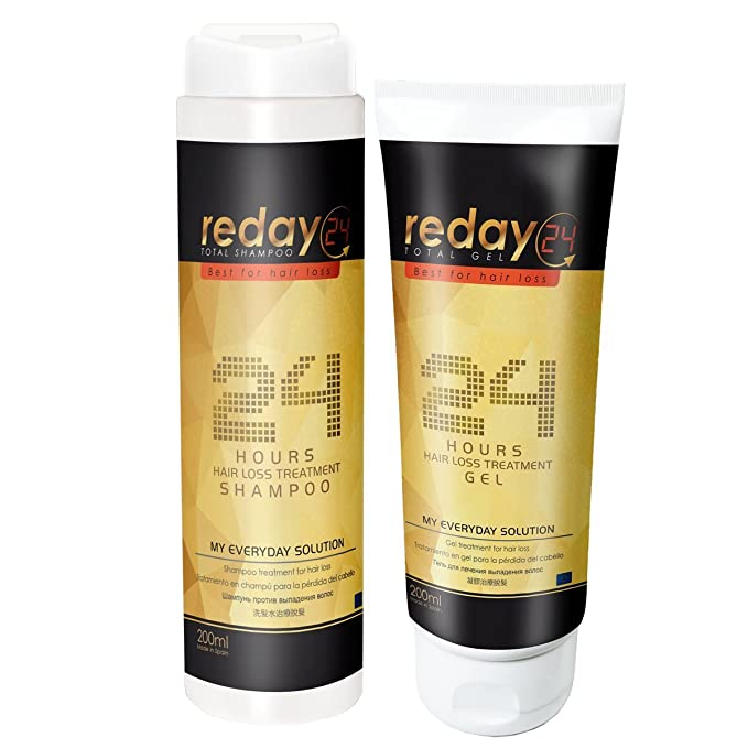 PACK AHORRO ANTICAÍDA REDAY24 TOTAL SHAMPOO + REDAY24 TOTAL GEL (Champú + Gomina Anticaída): Amazon.es: Belleza