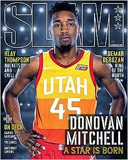 Slam Magazine May June 2018 Donovan Mitchell Cover Amazon Com Books