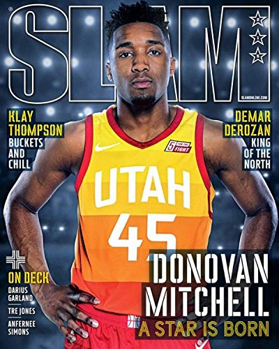 Slam Magazine (May/June 2018) Donovan Mitchell Cover