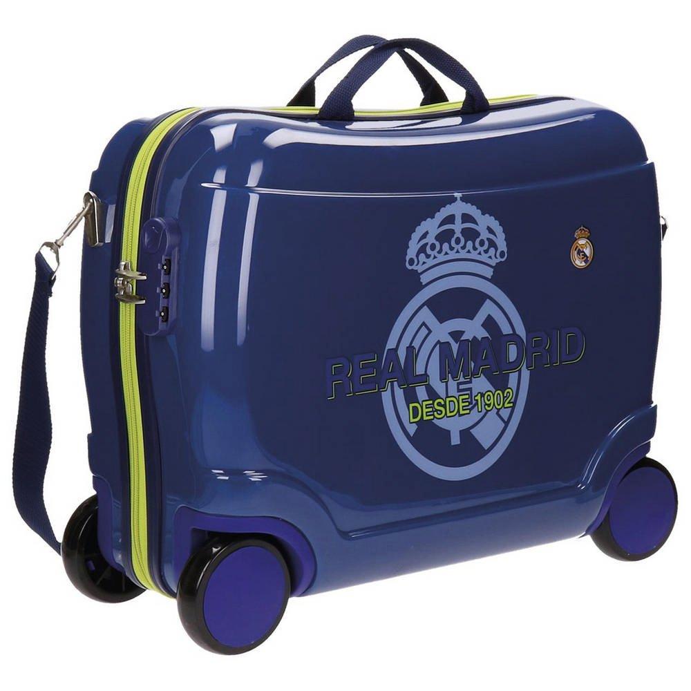 Real Madrid Rm Classic Kindergepäck, 50 cm, 34 liters, Blau (Azul)