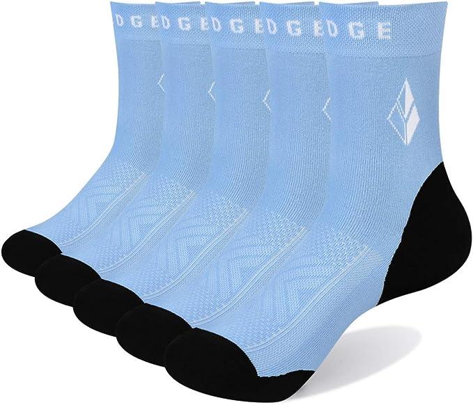 YUEDGE Mens Breathable Cotton Crew Casual Dress Socks Everyday Socks Business Socks for Men