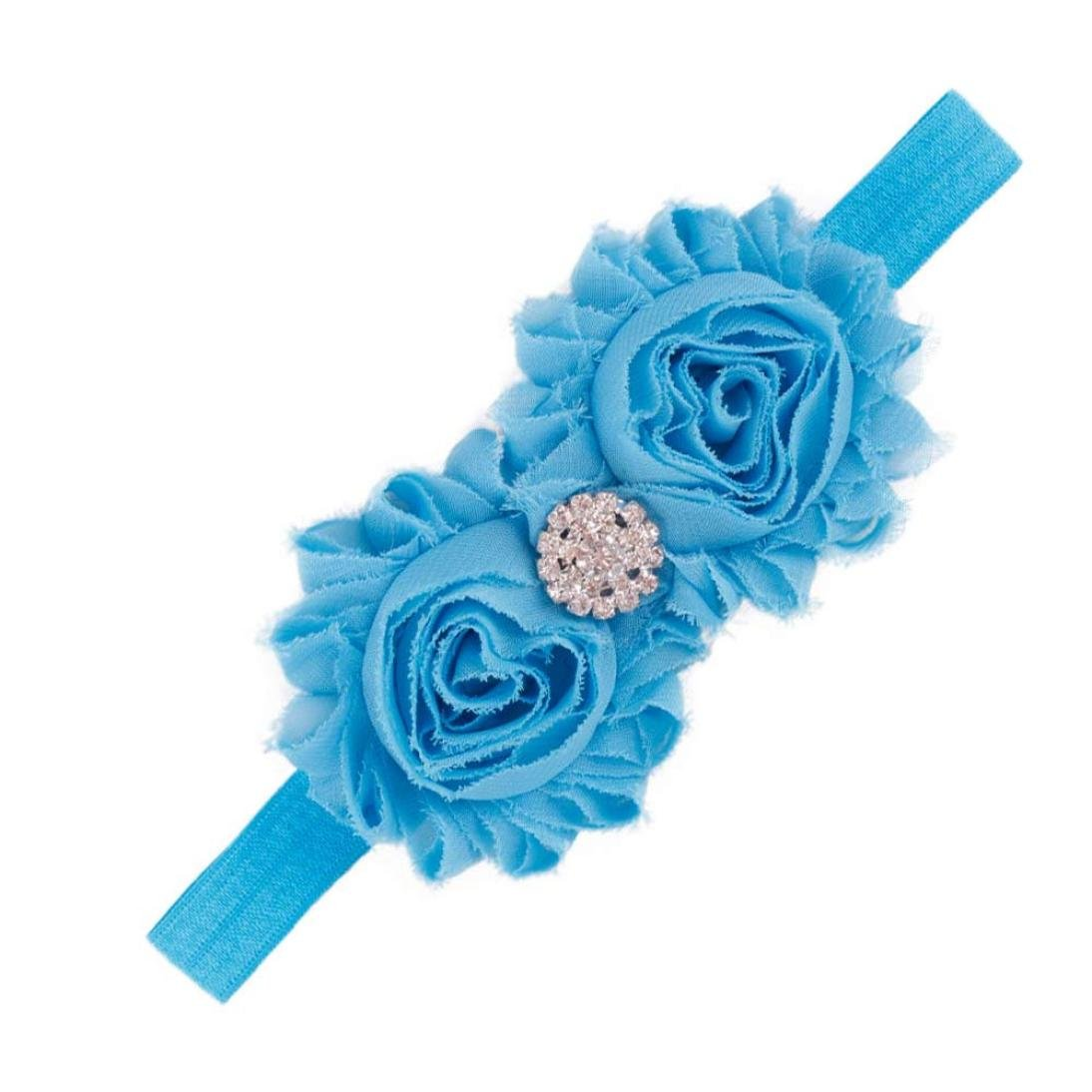Tenworld Fashion Infant Girls Headband Flower Hair Accessories Hot Tenworld-hairband