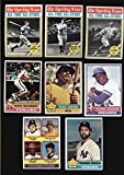 1976 Topps Baseball Complete Set 660 Cards VG/EX Condition