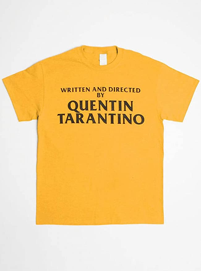 f8e9dc829 Futopion Women's Graphic Tshirts Written and Directed by Quentin Tarantino  Printed Tops at Amazon Women's Clothing store: