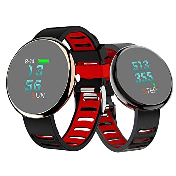 "Muvit MIOSMW013 Reloj Inteligente Negro OLED 2,41 cm (0.95"") - Relojes"