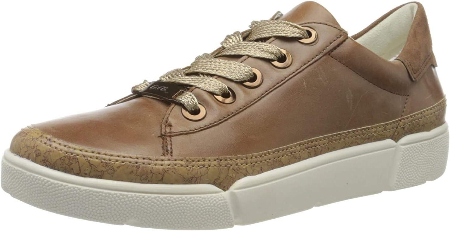 ARA Rome Sneakers voor dames Bruin natuur cognac 20