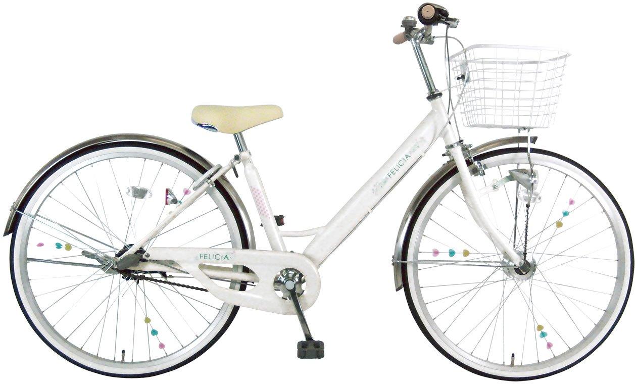 C.Dream(シードリーム) フェリシア 3段変速付 V43-H 24インチ 子供自転車 ホワイト 100%組立済み発送 B014KUWBW0