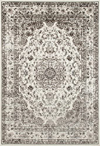 3212 Distressed Cream 7'10×10'6 Area Rug Carpet Large New