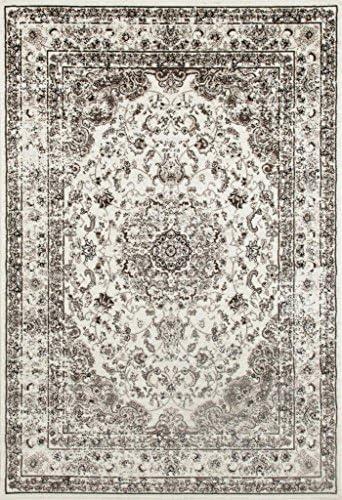 3212 Distressed Cream 7'10×10'6 Area Rug Carpet Large New