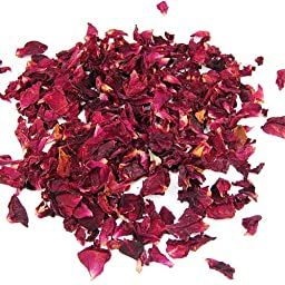 Veroda Dried Rose Petals Flowers Confetti Natural Table Pot Pouri