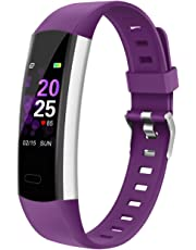 BingoFit Young Kids Fitness Tracker Step Counter Watch, Kids Activity Tracker with Wearable Heart Rate Monitor Pedometer, Kids Wristband with Waterproof Sleep Tracker Best Festivals