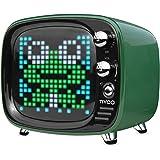Divoom TIVOO レトロTV型モニター搭載 Bluetoothスピーカー [ グリーン ]