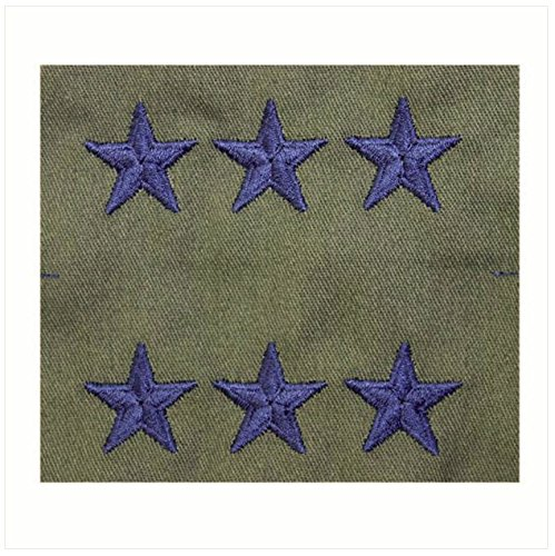 Vanguard AIR FORCE EMBROIDERED RANK: LIEUTENANT GENERAL - SUBDUED FATIGUE
