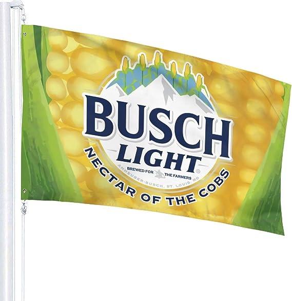 BUSCH LIGHT FLAG BANNER 3/'X5/' Fast Free Shipping