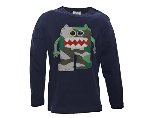 Boys applique ink monster t shirt top years amazon