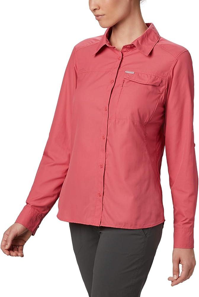 Columbia Silver Ridge 2.0 Camisa De Manga Larga, Mujer, Rouge Pink, L: Amazon.es: Deportes y aire libre