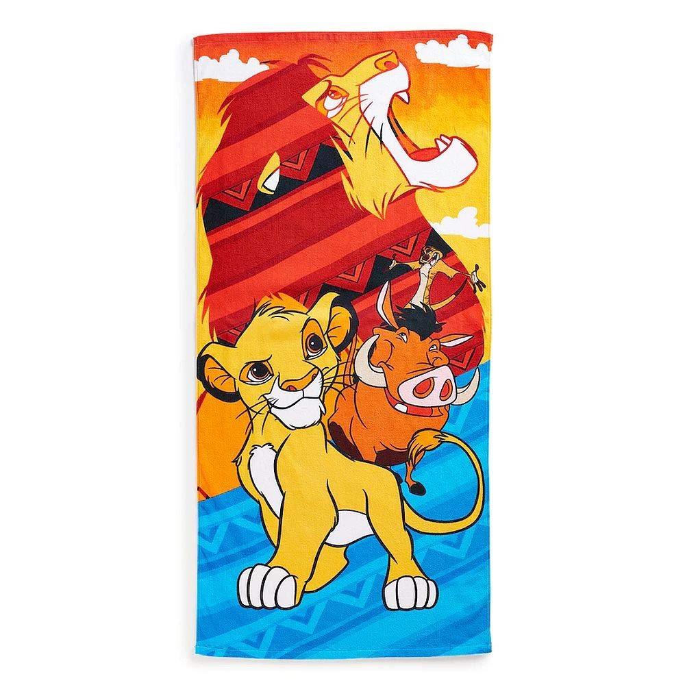 Jumping Beans The Lion King Children's 28'' X 58'' Beach, Bath Towel