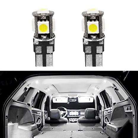 Cobear para 206 207 Super Brillante Fuente de luz LED Interior Lámpara de Coche Bombillas de