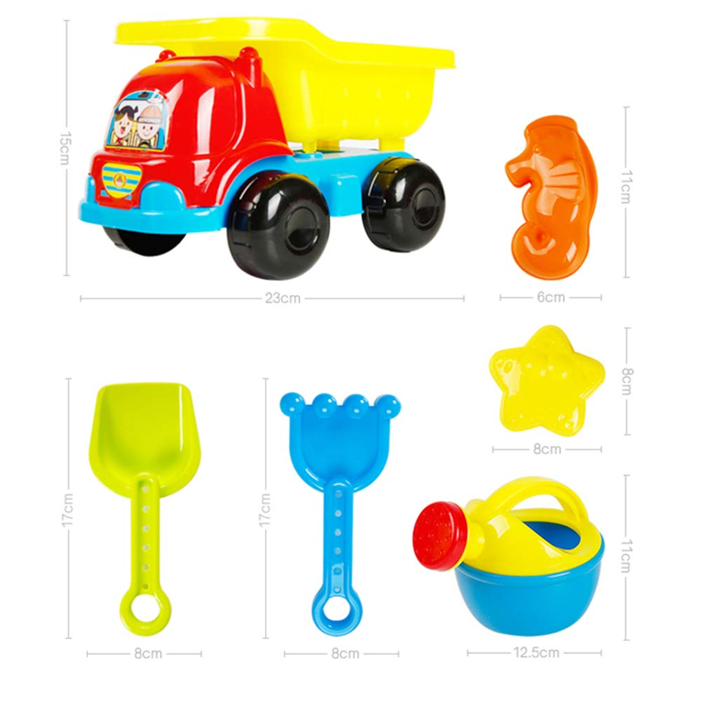 GYJ Beach Sand Toys Set Models Activity & Entertainment Guardrail Safety Fence Children Cassia Toys Marine Ball Suit Baby Play Sand Pool Tools Cloth Hourglass Home Playing by GYJ (Image #3)