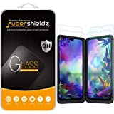 (2 Pack) Supershieldz for LG G8X ThinQ Screen Protector (2 Tempered Glass Main Screen and 2 PET Dual Screen) Anti…
