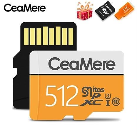 Tarjeta de Memoria AOXITT Tarjeta Micro SD de 256 GB / 128 GB / 64 ...