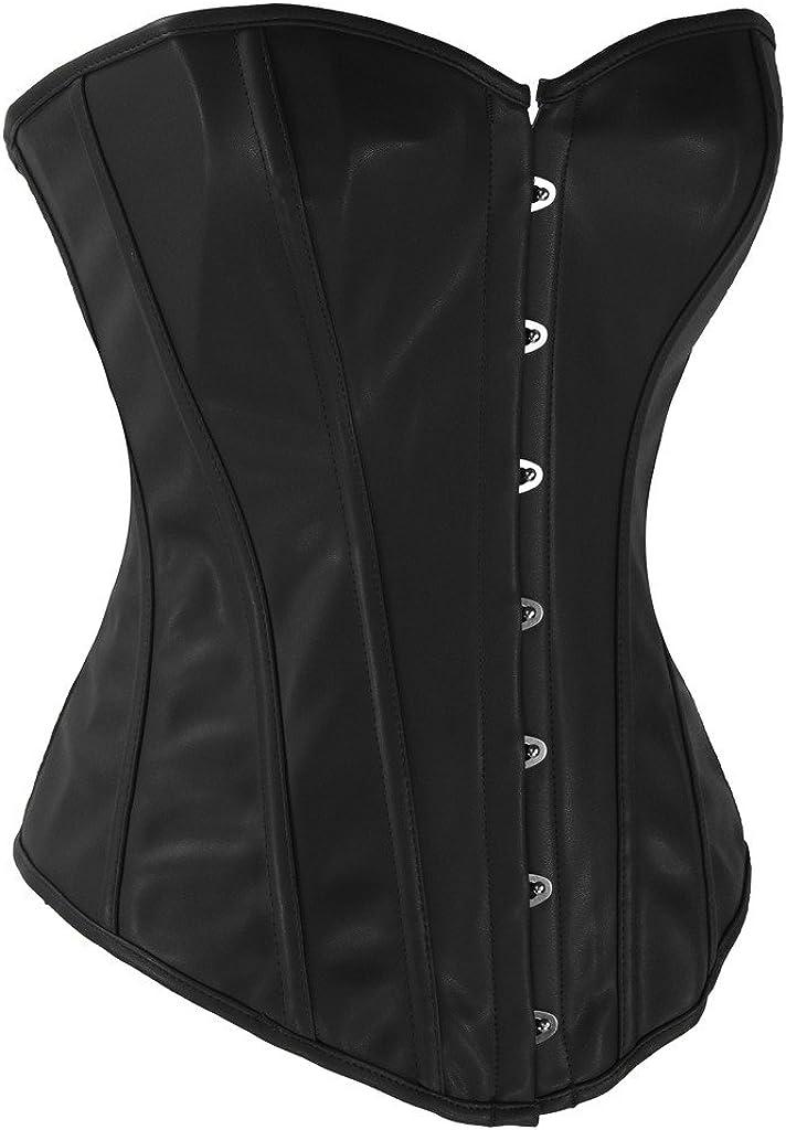 Alivila.Y Fashion Womens Steel Boned Retro Goth Steampunk Corset