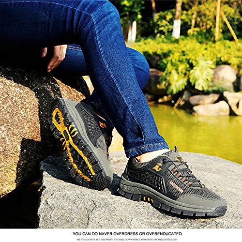 Scarpe Scarpe Trekking Morbide Scarpe Scarpe Uomo Impermeabili Oxford E da Passeggio Durevoli da Casual Traspiranti Migliorate Scarpe da Confortevoli Green wxxTpqYZ
