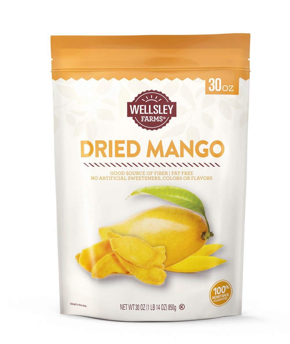 Wellsley Farms Dried mango, 30 Ounce