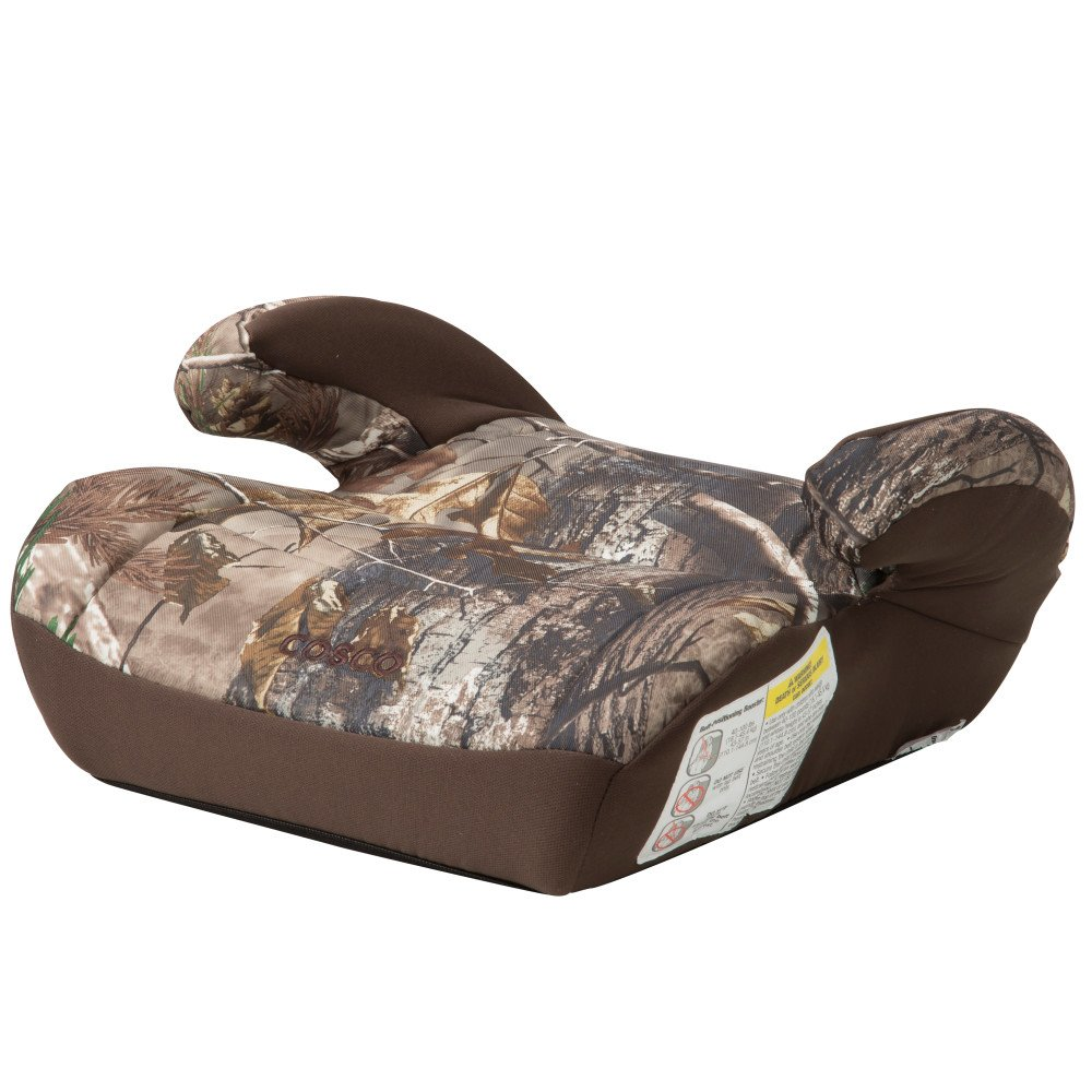 Cosco Topside Booster Car Seat - Easy to Move, Lightweight Design (Realtree)