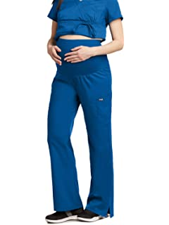 7c67bf2c3b8 Grey's Anatomy Maternity Pant for Women - Flare Leg Medical Scrub Pant
